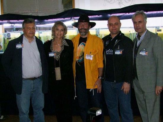 2010 aprile-Lecce-Mediterranea Discus-staff Mondodiscus e Heiko Bleher