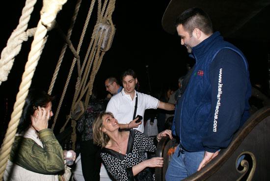 2007 aprileVenezia-Discus Day DiscusPortal-Galeone Jolly Roger